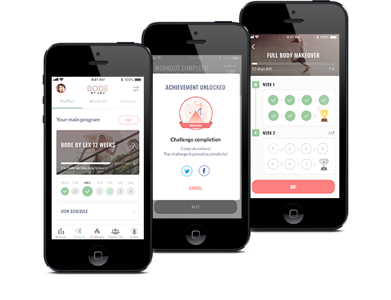 Bode By Lex Fitness App