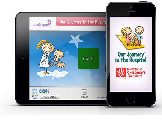 Phoenix Children's Hospital Journey Boards